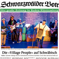 Village People auf Schwäbisch