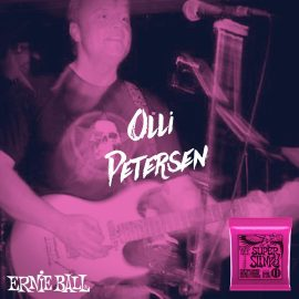 Olli plays Ernie Ball strings