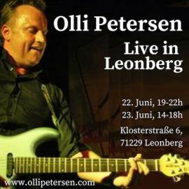 Olli Petersen – Solo-Cover-Programm beim Altstadtgarten