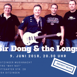 Sir Dong & the Longs in Ditzingen