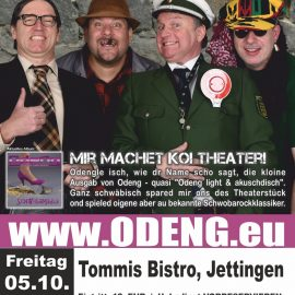 ODENGLE – live in Jettingen und Stuttgart
