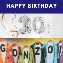 30 Jahre Gonzo