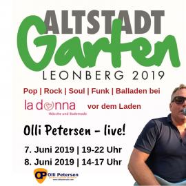 Olli Petersen solo | Altstadtgarten Leonberg